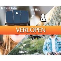 1DayFly Tech: Spectre drone met iris VR bril