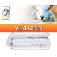 Voordeelvanger.nl: 100% wollen 4-seizoenen dekbed
