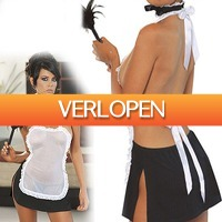 Uitbieden.nl 2: Backless Maid lingerie set