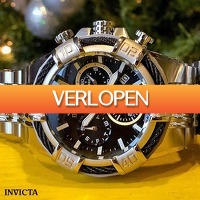 Watch2day.nl: Invicta Bolt Chronographs
