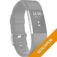 Fitbit Charge 2 Black/Silver S
