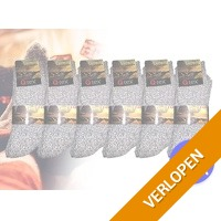 6 x warme Noorse sokken