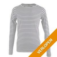 Dstrezzed longsleeve T-shirt navy stripes