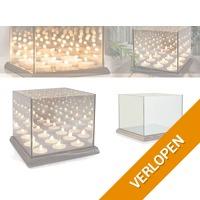 Never-ending Light Cube waxinelichtjes houder