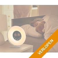 LED wake-up wekker met natuurgeluiden