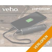 2-pack Veho Pebble Ministick powerbank