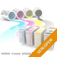 Inkt cartridges voor diverse printers