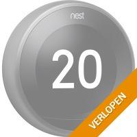Nest Learning Thermostat V3 Premium zwart
