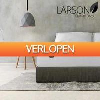 One Day Only: Larson Bergen luxe matras met topper