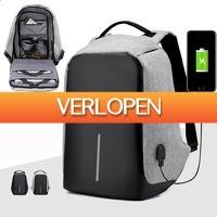 Priceattack.nl: Design anti-diefstal rugzak USB