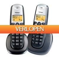Wehkamp Dagdeal: Profoon PDX-6520 DECT telefoon