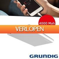 Wilpe.com - Elektra: Grundig Powerbank Slim MT 4000 mAh