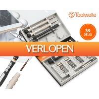 1DayFly Tech: 39-delige Toolwelle precisie schroevendraaierset