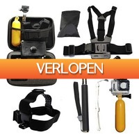 Euro2deal.nl: 10-in-1 GoPro Hero accessoire set