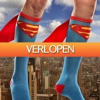 Gadgetsgift.nl: Superman kousen met cape