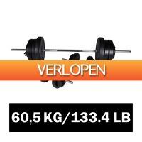 VidaXL.nl: vidaXL halter set 60,5 kg