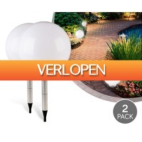 Voordeelvanger.nl 2: 2-pack solar LED-lichtbollen