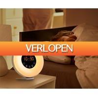 Voordeelvanger.nl 2: LED wake-up wekker met natuurgeluiden