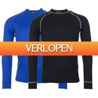 Plutosport offer: 2 x Craft Active thermo longsleeve