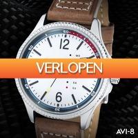 Watch2Day.nl 2: AVI-8 Hawker Hunter AV-4007 horloge
