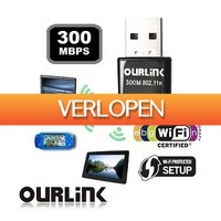Mob-Com: Ourlink WiFi N-Adapter 300Mbps