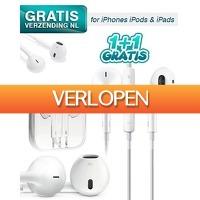 KoopjeNU: 2 x earpods voor iPhone/iPod/iPad