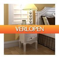 VidaXL.nl: VidaXL nachtkastje met 2 lades