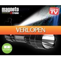 Voordeelvanger.nl: Magneto oplaadbare militaire zaklamp