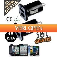 Mob-Com: USB dual car adapter