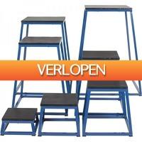 Befit2day.nl: Voordeelset Plyoboxen 7-delig