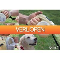 VoucherVandaag.nl 2: 6-in-1 intrekbare hondenriem