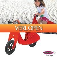 HelloSpecial.com: Veiling: Jamara houten loopfiets scooter/motor