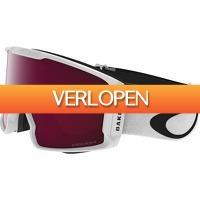 Coolblue.nl 1: Oakley Line Miner White skibril + Prizm Rose Lens