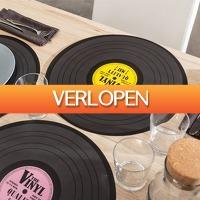 CheckDieDeal.nl 2: 4 x retro placemat disco set