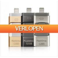 HelloSpecial.com: Veiling: iFlash Drive voor iPad of iPhone 64 GB
