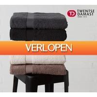Koopjedeal.nl 2: 2-pack handdoeken van Twentse Damast
