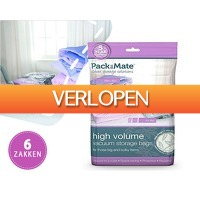 1DayFly Sale: PackMate vacuum opbergzakken