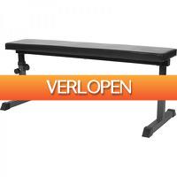 Befit2day.nl: Vlakke fitnessbank