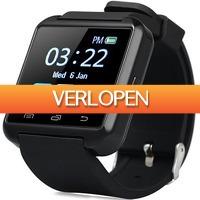 Uitbieden.nl 3: Bluetooth U8S smartphone horloge