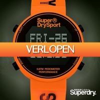 Watch2Day.nl 2: Superdry sporthorloge met stappenteller