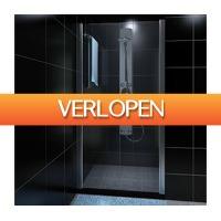 VidaXL.nl: Glazen douchedeur