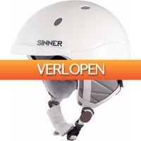 Coolblue.nl 2: Sinner Titan Matte White skihelm