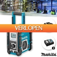 Wilpe.com - Elektra: Makita DMR 108 bouwradio met Bluetooth