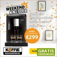Koffiediscounter.nl: Philips HD8831 volautomatische espressomachine