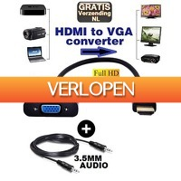 KoopjeNU: HDMI naar VGA adapter
