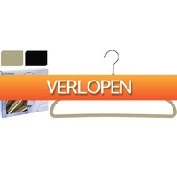 Perfect-deal.nl: Kledinghangers set 20 stuks vilt