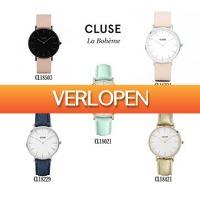 Dealwizard.nl: Cluse La Boheme horloge