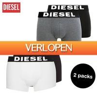 Elkedagietsleuks HomeandLive: 2-pack boxershorts van Diesel