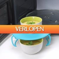 Dealbanana.com: Handig rekje voor magnetron/koelkast