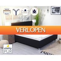 1DayFly Home & Living: Vitality-Pur Sleep Fit topdekmatras